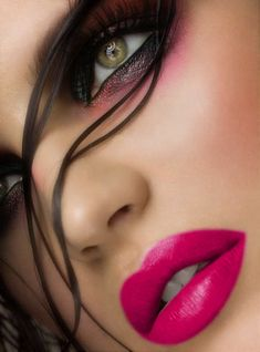 #makeup face http://www.HairNewsNetwork.com GET LISTED! Hair News Network. All Hair, All The Time.