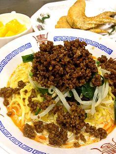 担々麺初めて作ったけど美味しかったですo(^▽^)o - 38件のもぐもぐ - 担々麺 by koume0712