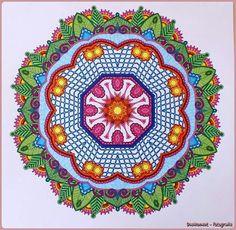 Mandala Uit Het Enige En Echte Kleurboek