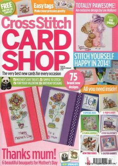Our Embroidery & Stitching magazine subscriptions are jam packed with beautiful designs and 'how to' guides to help improve and inspire you! Cross Stitch Tree, Cross Stitch Books, Cross Stitch Cards, Cross Stitching, Cross Stitch Embroidery, Cross Stitch Designs, Cross Stitch Patterns, Magazine Cross, Cross Stitch Magazines