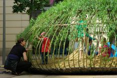 PPAG: Kagome, a playground within the museums quarter of Vienna, Austria.