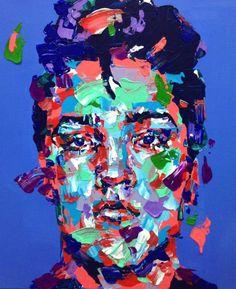 "Saatchi Art Artist Jeong Ah Lim; Painting, ""an ordinary person - el"" #art"