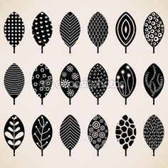 Leaf Pattern Wallpaper Texture Background Design