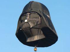 Darth Vader balloon.
