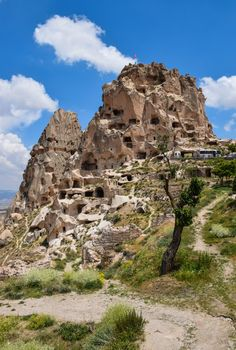 Uchisar Castle - It's the highest point in Cappadocia and has some of the best views in the region