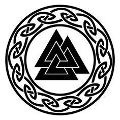 Celtic Circle + Valknut (kevinmupra)