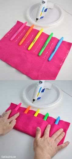 Teacher Appreciation Highlighter Roll Gift Idea | Tween Craft Ideas for Mom and Daughter