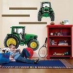 John Deere Giant Removable Wall Decal Set - E159469    Going in my boys room!
