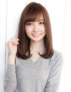 うるツヤナチュラル(ND-34) | ヘアカタログ・髪型・ヘアスタイル|AFLOAT(アフロート)表参道・銀座・名古屋の美容室・美容院