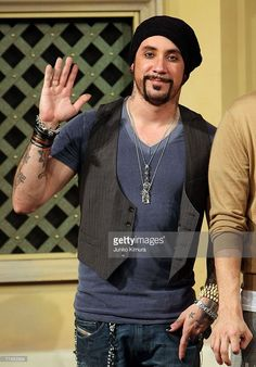 A.J. McLean of Backstreet Boys attends a 'Special Fan Event' promoting their new album 'Unbreakable' at Venusfort on October 23, 2007, in Tokyo, Japan. The album will be released on October 24 in Japan. They are scheduled to peform at concerts in February next year in Tokyo.