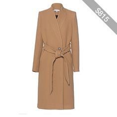 IRO Walker Camel // Wool blend coat
