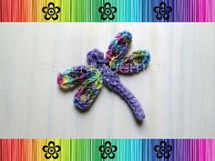 PATTERNCrochet Fish AppliqueDetailed Photos por EverLaughter