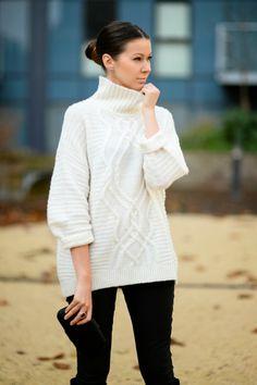 chunky sweater http://fashioncognoscente.blogspot.com