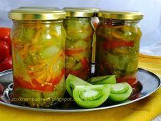 z cukrem pudrem: sałatka z zielonych pomidorów