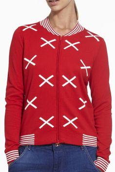 Hypnotic Bomber SS2015 NINETEEN//46 NZ$235 #knitwear #cotton #fullyfashioned #summerknitwear #summer #cotton