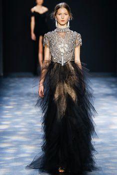 Marchesa Autumn / Winter 2016 AW16 - New York Fashion Week NYFW - Jewellery and tull