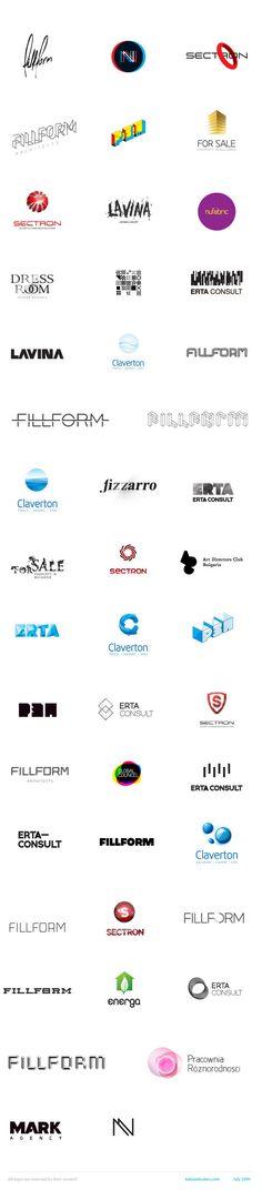 Best of Kaloian Toshev Logotypes 2007-2009