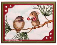 """""""Berry Gift"""" by Kristine Reynolds on House-Mouse Designs"""