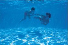 Underwater together...