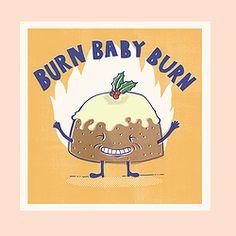 BURN BABY BURN CARD