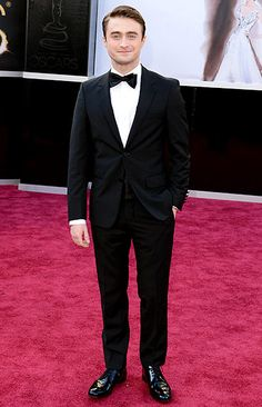 Dan Radcliffe. He should always wear a tux.
