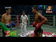 Chan Bunhoeun Vs Thai Boxer, Khmer boxing, BTV Boxing 06 November 2016