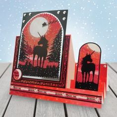 Twilight Kingdom - A Magical Christmas - Hunkydory Kanban Crafts, Crafts For Kids, Arts And Crafts, Hunkydory Crafts, Pipe Cleaner Crafts, Fantasy Mermaids, Magical Christmas, Heartfelt Creations, Christmas Cards