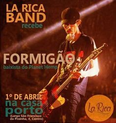 La Rica Band presents it's first public show of the year @ Casa Porto #LaRica #jamaicanfood #riodejaneiro #rio2016 by teepolion