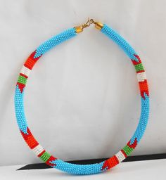 African necklace African jewelry Tribal by Africancraftsvillage