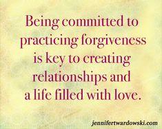 5 Steps to Forgiveness | Jennifer Twardowski #love #forgive #forgiveness #commit #createalifeoflove #relationships #healing
