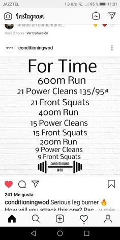 It is a good idea to perform HIIT 2 to 3 times a week. The key is to give your body a one day healing time between the sessions. Crossfit Barbell, Crossfit Workouts At Home, Wod Workout, Workout Days, Fit Board Workouts, Fun Workouts, Strength And Conditioning Workouts, Orange Theory Workout, I Work Out