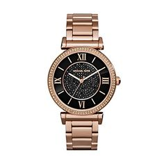 Michael Kors MK3356 Ladies Catlin Rose Gold Plated Watch ** Want to know more, click on the image.