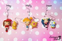 Pokemon Pokemon Jewelry Kawaii Earrings by SentimentalDollieZ, $25.00