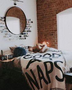 It's okay to brag sometimes. Shop the Calhoun & Co. Good At Naps Throw, SKU… My New Room, My Room, Dorm Room, Dream Bedroom, Home Bedroom, Bedroom Decor, Bedrooms, D House, House Rooms