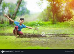 boy sitting beside plant on farm Photo Agriculture Photos, Farm Photo, 3d Assets, Icon Pack, Photo Illustration, Free Design, Vector Free, Animation, Plants