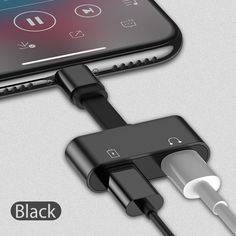 TORRAS 2 in 1 for Lightning Adapter For iPhone 7 Charging Adapter For iPhone 8 7 Plus 10 X Charger Splitter Headphone Adapter Iphone Headphones, Best Headphones, Audio Headphones, Iphone Charger, Iphone 8, Apple Iphone, Iphone 7 Adapter, Headphone Splitter, Phone Accesories