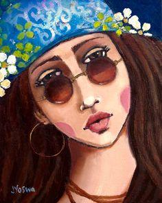 Stay Wild Flower Child by Jennifer Yoswa