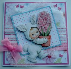 Projects To Try, Card Making, Teddy Bear, Clip Art, Easter, Toys, Frames, Cards, How To Make