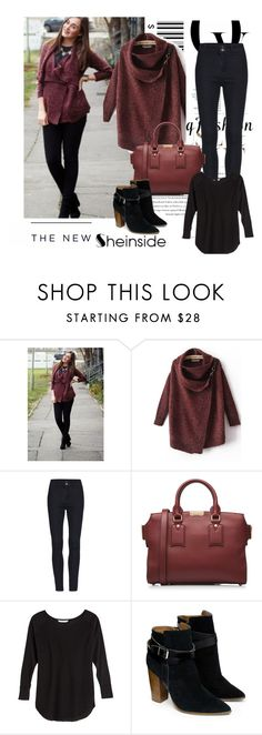 """Red Cardigan Sweater in Shein"" by nermina-okanovic ❤ liked on Polyvore featuring Burberry, Victoria's Secret, Warehouse, Envi and American Eagle Outfitters"