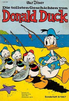 Loved all the Disney comic books! Donald Duck, Mickey Mouse, Chip and Dale… Old Comic Books, Vintage Comic Books, Vintage Cartoon, Vintage Comics, Walt Disney, Disney Duck, Pato Donald Y Daisy, Don Rosa, Donald Duck Comic