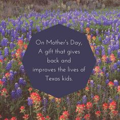 Still Looking For A Great Gift To Honor The Special Mom In Your Life A Donation To Support Texans Care For Childrens Work Will Help Provide Better