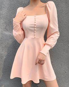 Trend Fashion, Kpop Fashion Outfits, Mode Outfits, Cute Fashion, Look Fashion, Dress Outfits, Fashion Dresses, Fashion Clothes, Fashion Beauty