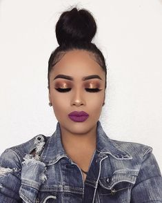 It's officially my birthday month! lipstick in Hollywood Nights 🎆 enter their VDAY giveaway for a chance to win the… Smokey bronze eyeshadow look She is beatttt, let's see if I can pull off this look Eyeshadow - Dark And Lovely: Skin Care Tips For La Makeup On Fleek, Flawless Makeup, Cute Makeup, Glam Makeup, Gorgeous Makeup, Pretty Makeup, Skin Makeup, Makeup Eyebrows, Makeup Geek