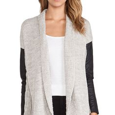 Dakota Collective by BB Dakota Adeline Chunky Cocoon Sweater in Beige