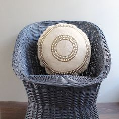 Crochet/Burlap+Pillow+by+lovintagefinds+on+Etsy,+$115.00
