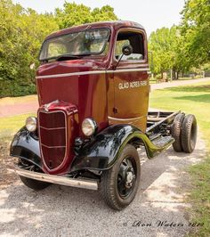 doyoulikevintage:1936 Cab Over Engine Ford