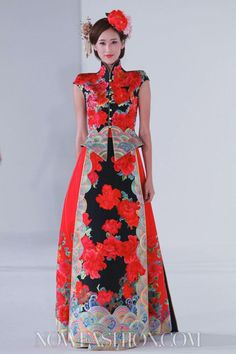 Guo Pei Ci Couture Spring Summer 2013 Singapore - NOWFASHION