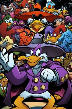 Darkwing Duck Villains United by *TheRealJoshLyman on deviantART