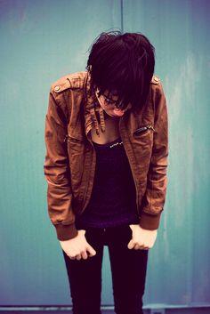 I want a leather jacket !!