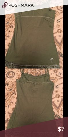 Justice Olive Bra in camisole Justice New no tags Olive bra in cami Justice Shirts & Tops Camisoles